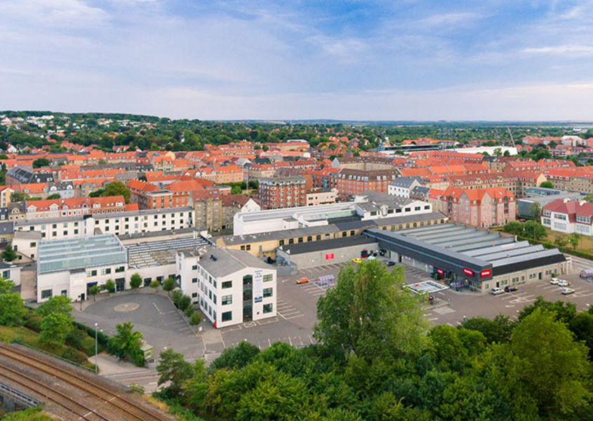 "Transformation of the town center ""Dannebrogscenteret"", Denmark"