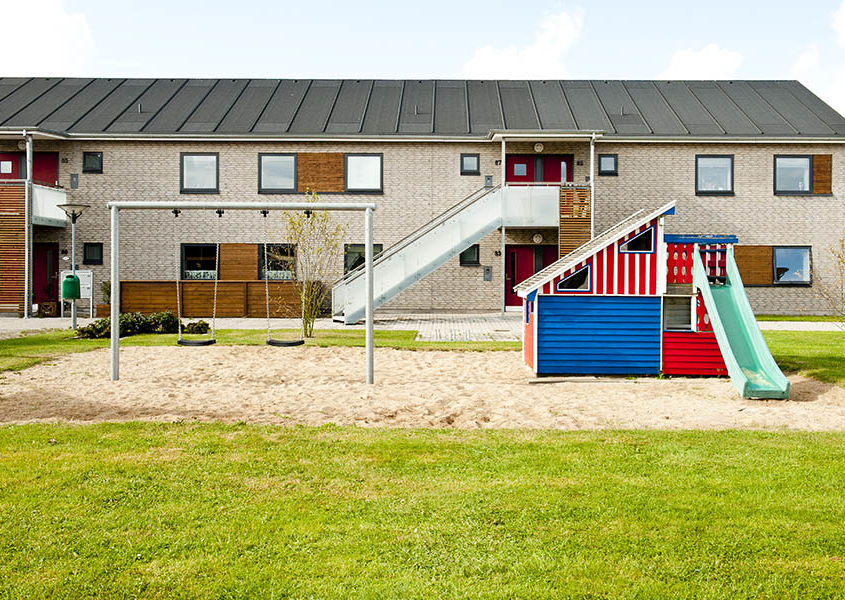 "Renovation housing, ""Engparken"" Frederikshavn, Denmark"