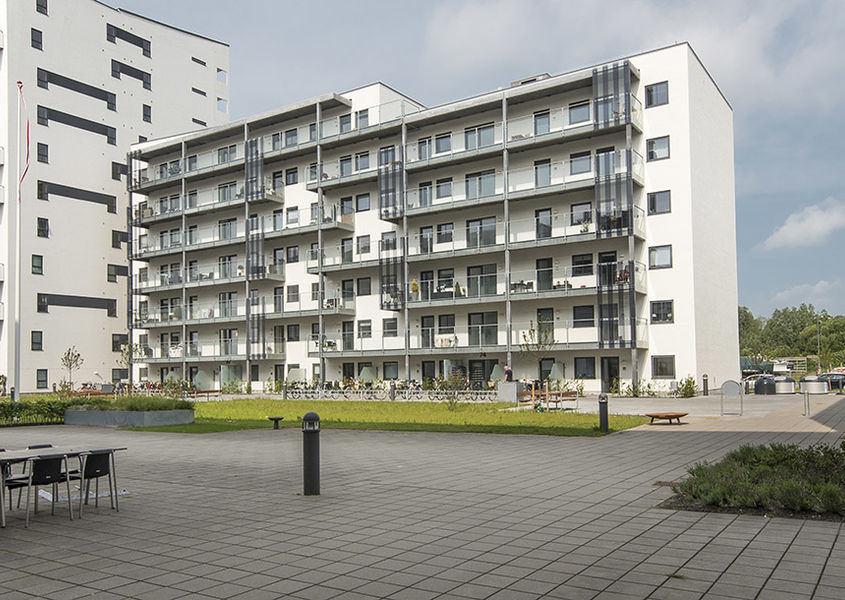 Housing, Nørresundby waterfront, Denmark